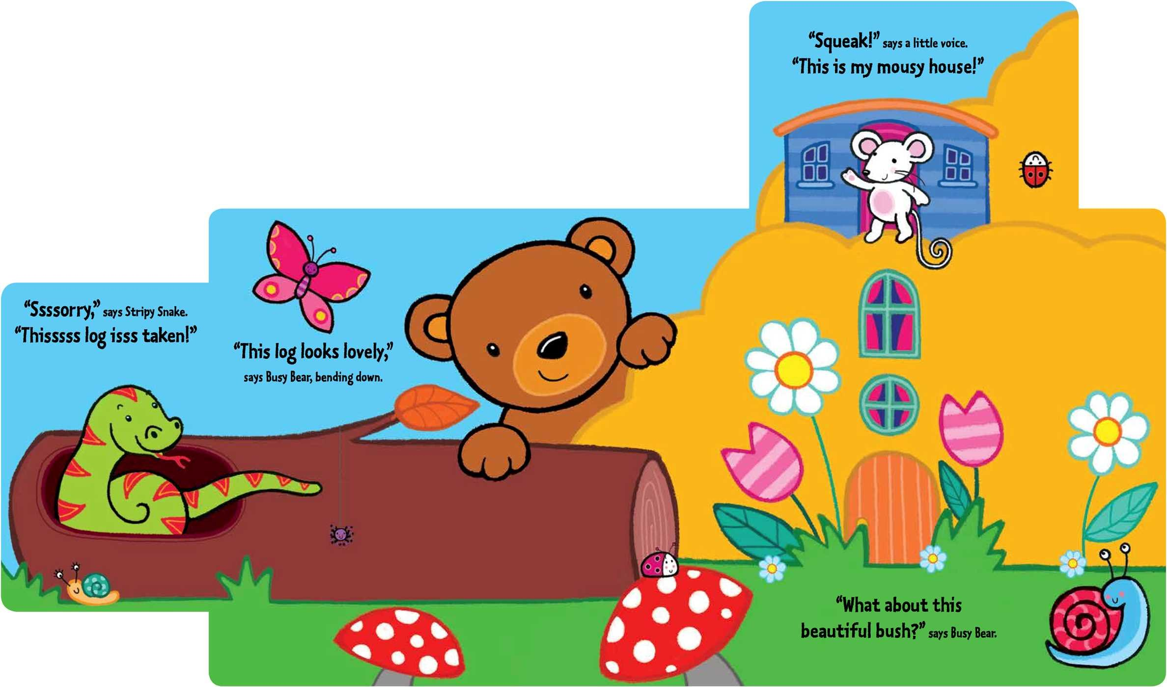 Amazon: Busy Bear's New Home: A Slideandseek Book (9781499804058):  Emma Parrish: Books