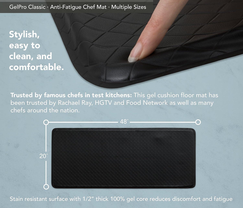 Amazon.com: GelPro Classic Anti-Fatigue Kitchen Comfort Chef Floor ...