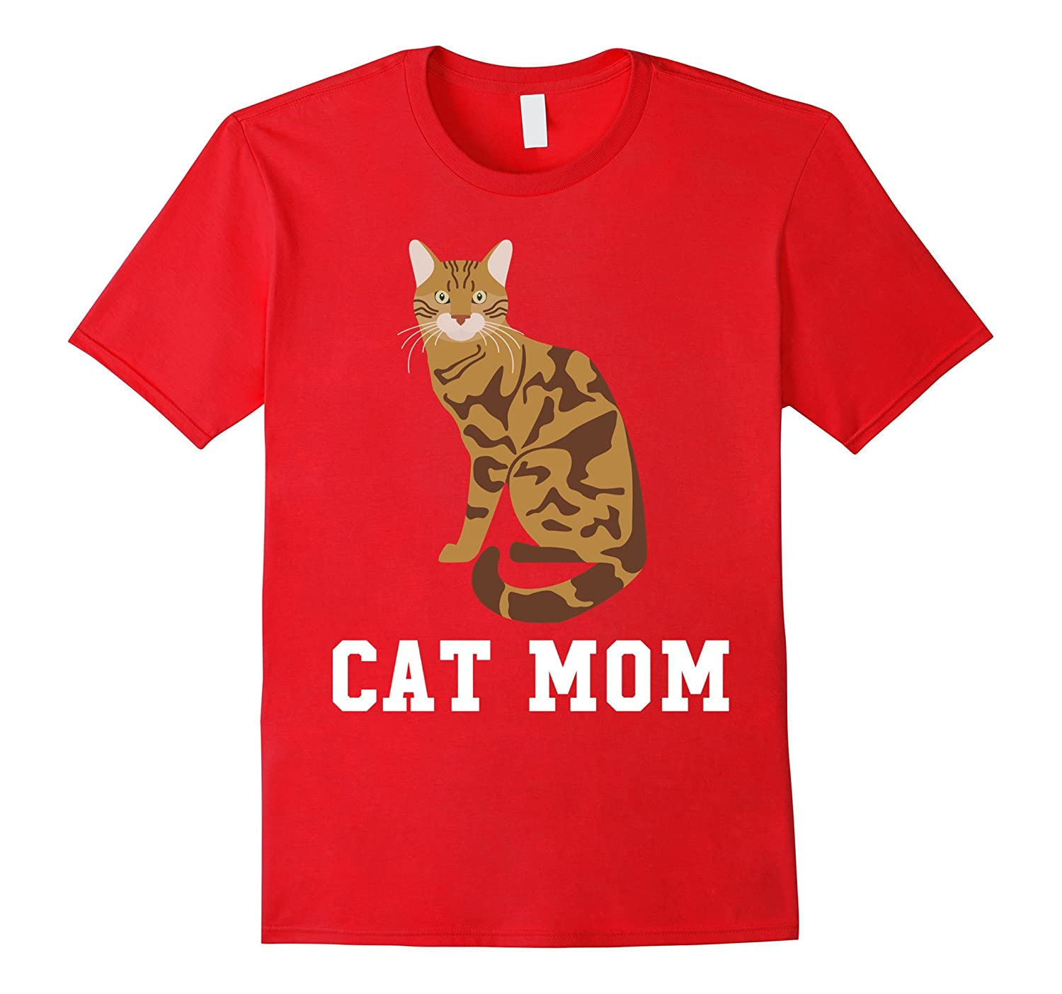 Bengal Cat Mom - Mothers Day T-Shirt-Art