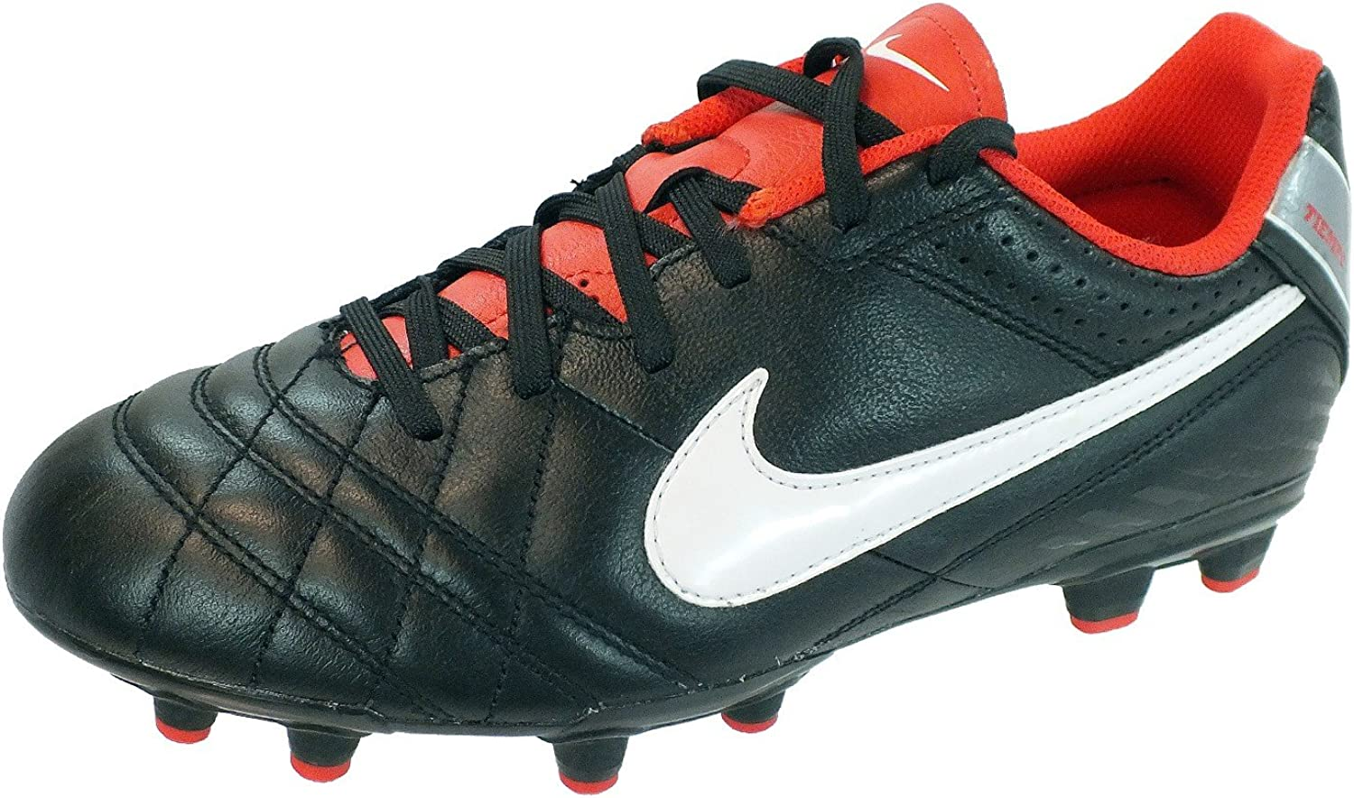 R Torbellino Cervecería  Nike football boots, Junior Tiempo Natural IV LTR FG, in black. Black Size:  3.5 UK: Amazon.co.uk: Shoes & Bags