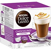 Nescaf? Dolce Gusto Choco Caramel, Cocoa with Caramel, Pack of 3, 3 x 16 Capsules (8 Servings)