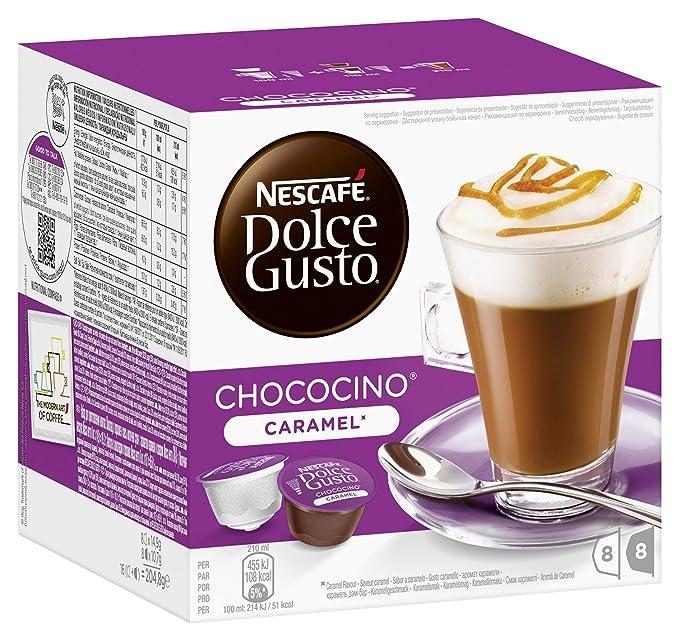 Nescafé Dolce Gusto Choco Caramel, Chocolate con Caramelo ...
