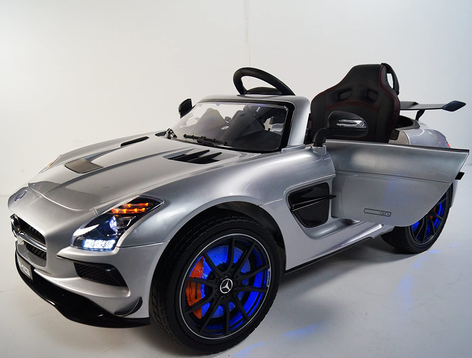 30%OFF Mercedes SLS SX-128 Silver Ride-on Car for children 2-5 years ...