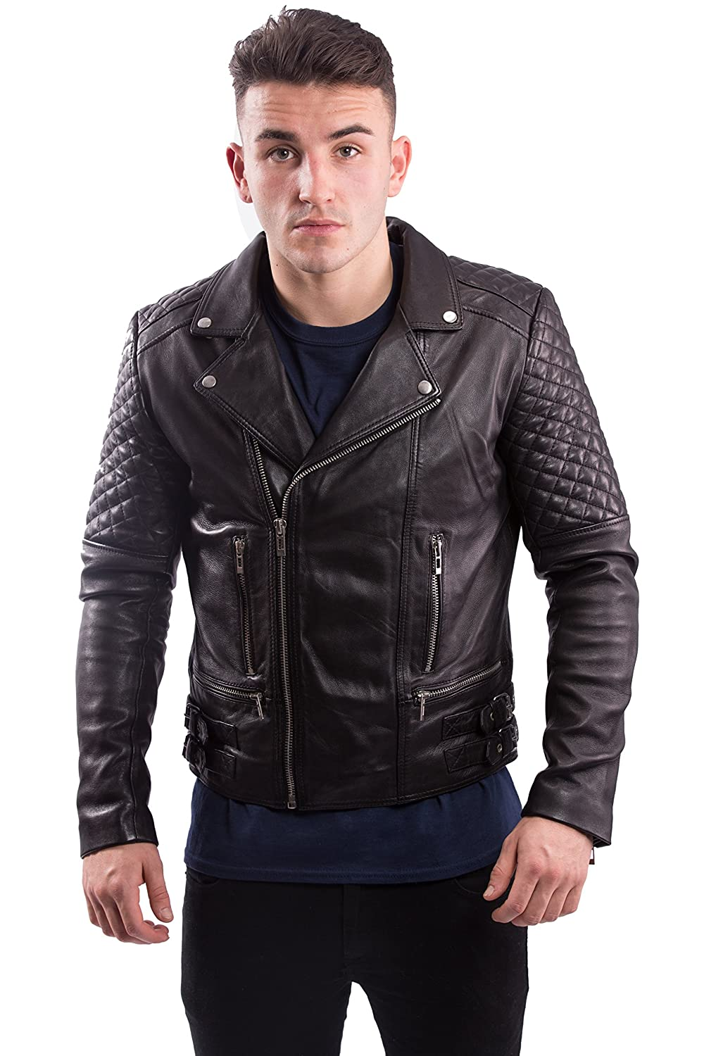 helifam? Hero Genuine Leather Jacket, Ideal for Bikers, with money Back guaranty