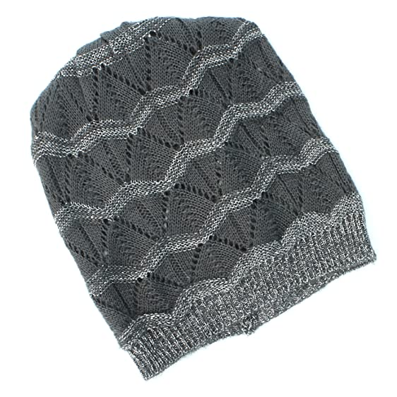 Apt. 9 Gray Slouch Beanie Winter Hat for Women - One Size at ...
