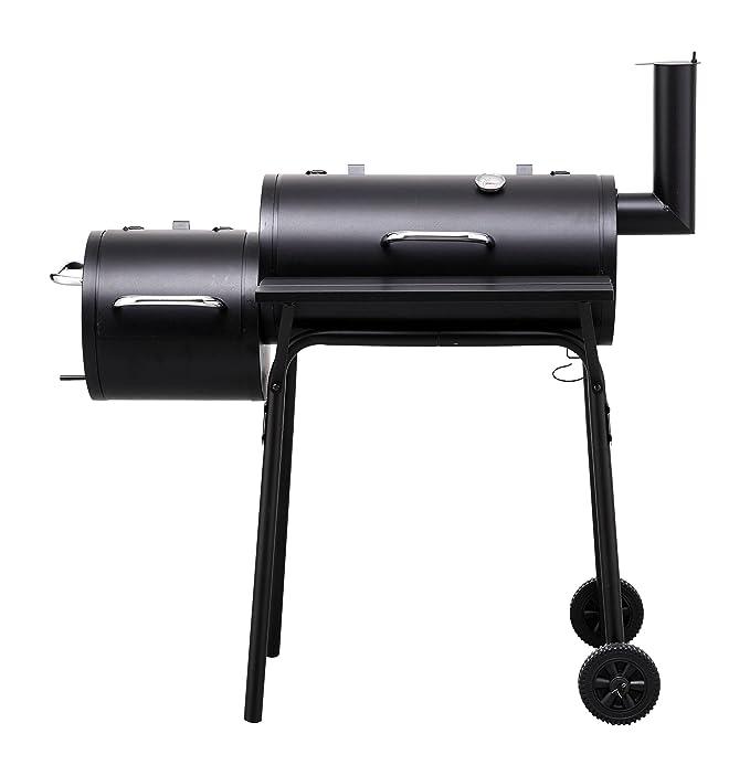 """92 opinioni per Tepro 1038""""Wichita Barbecue a carbonella con camera di combustione laterale"""