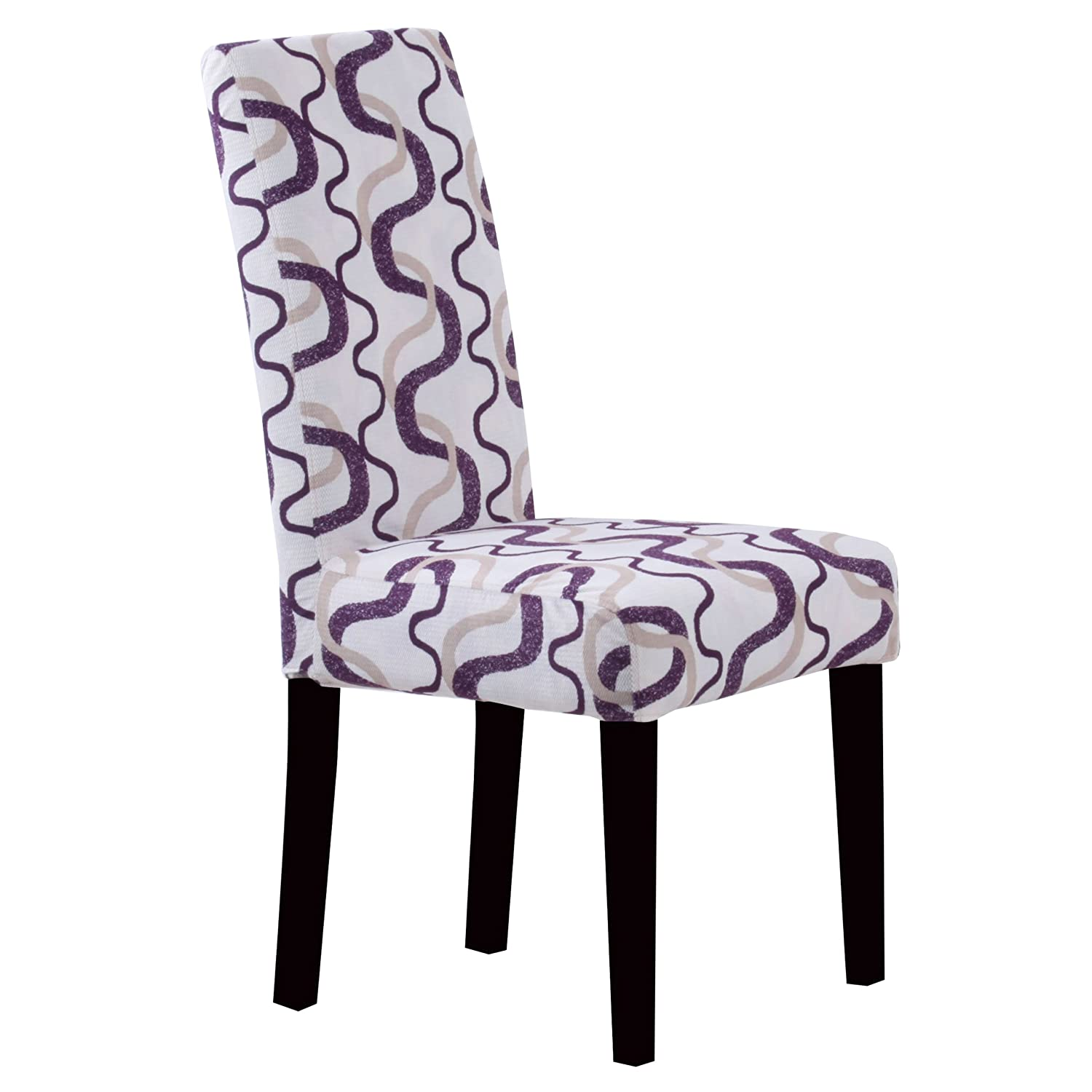 Surprising Monsoon Pacific Villa Fabric Dining Chairs Set Of 2 Berry Print Purple Short Links Chair Design For Home Short Linksinfo