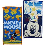 丸真 口袋毛巾 迪士尼 米奇 约20×10cm 米奇彩虹之星 *棉 2065004200 2件套