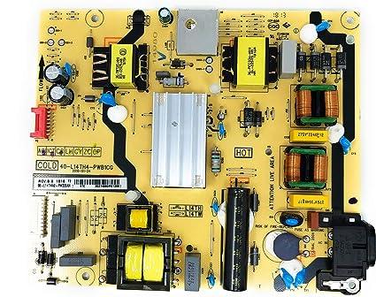 Placa de Fuente de alimentación 40-L14TH4-PWB1CG, 08-L14TWA2-PW220AN para TCL Modelo 55S401: GENERIC: Amazon.es: Electrónica