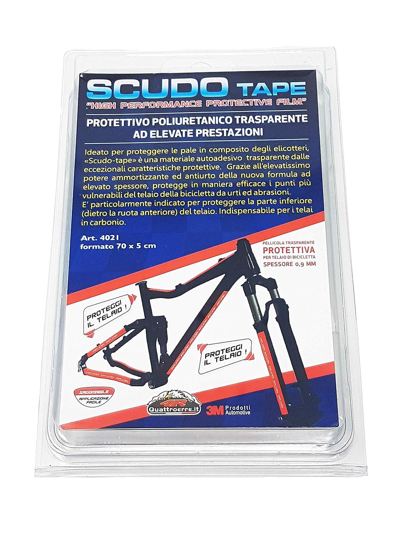 4R Quattroerre.it 4022 - Película transparente para proteger el cuadro de la bicicleta, 5 x 70 cm: Amazon.es: Industria, empresas y ciencia