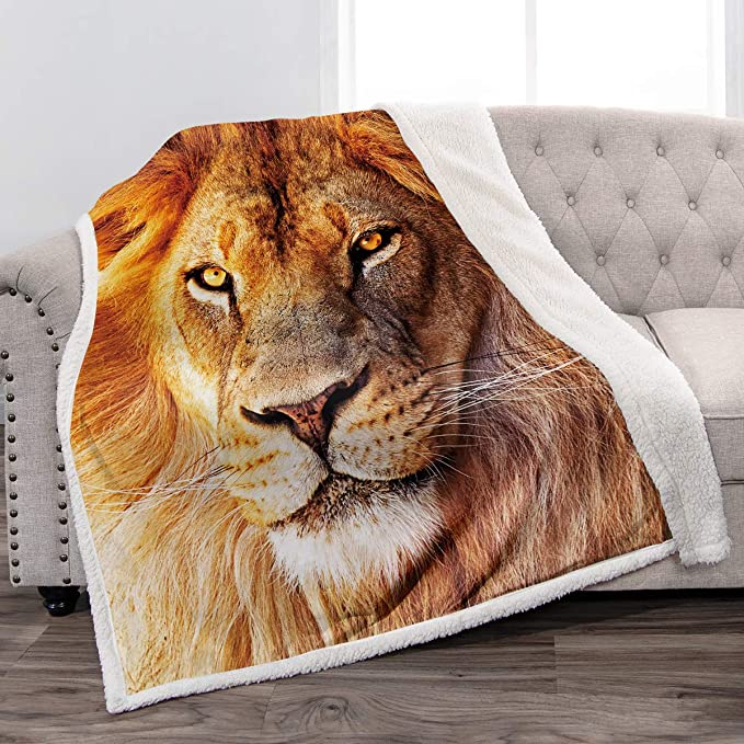 Joop Cuddly blanket Living area blanket Blue Woven 150x200cm 686701