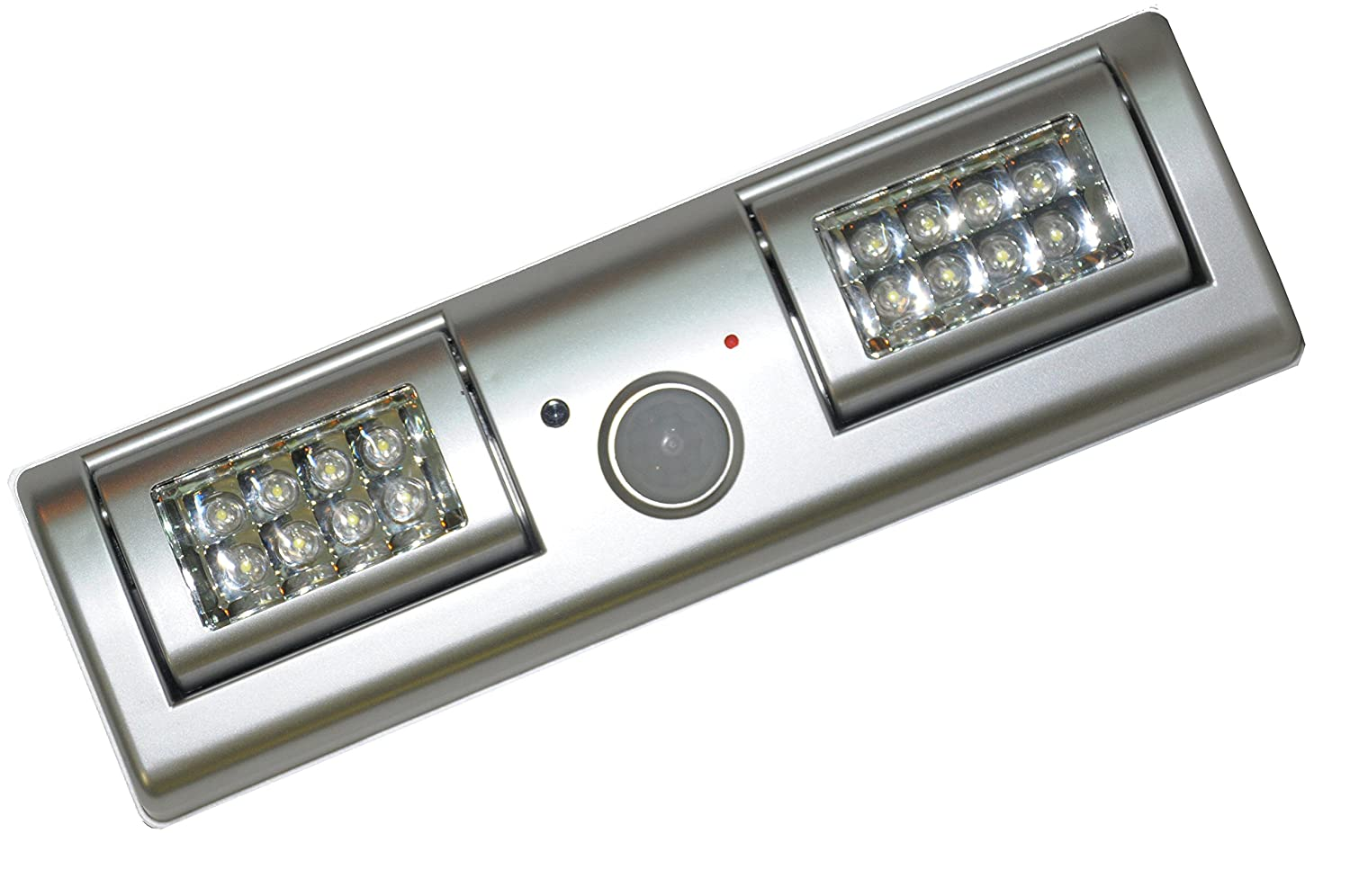 SleekLighting 16 LED Motion Sensor Closet Light The Light Panels Can Be  Adjusted 90 Degrees Battery Powered Batteries Included     Amazon.com