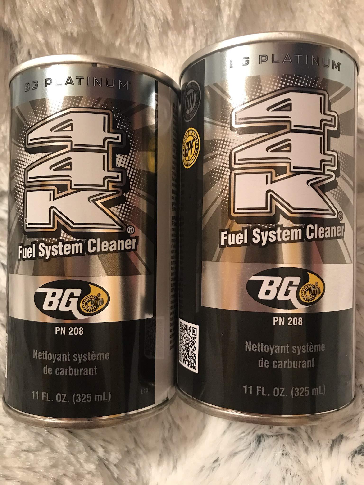 2 cans of New BG 44K Platinum