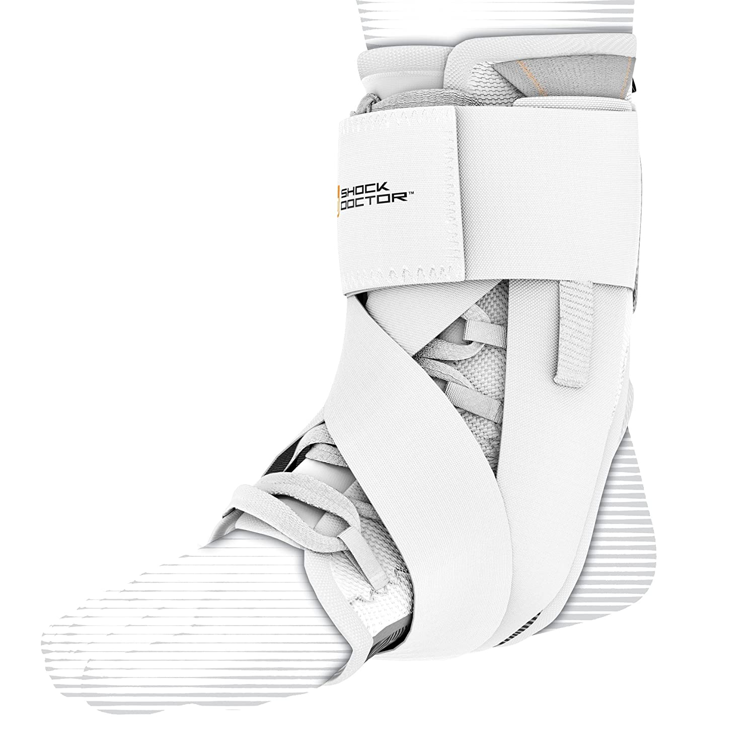 Shock Doctor 851 Ultra Wrap Laced Ankle Brace uitwra-sizcol