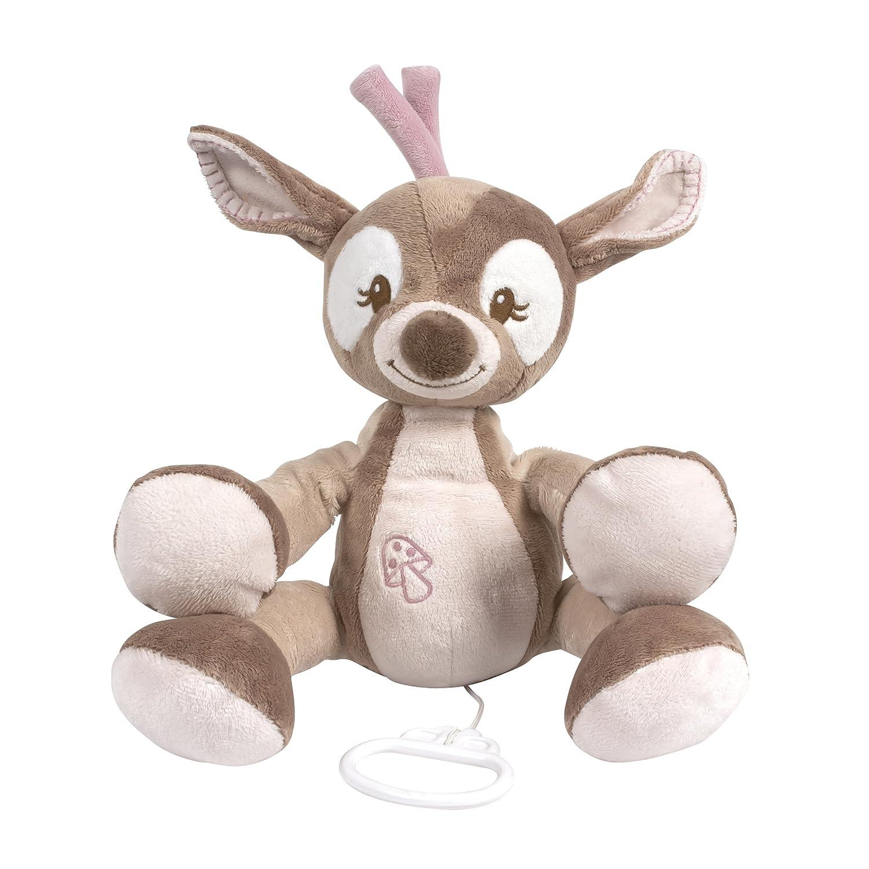 Babyspieluhr Geschenk Musikuhr Einschlafhilfe Baby Nattou 28cm Neu Mädchen Junge
