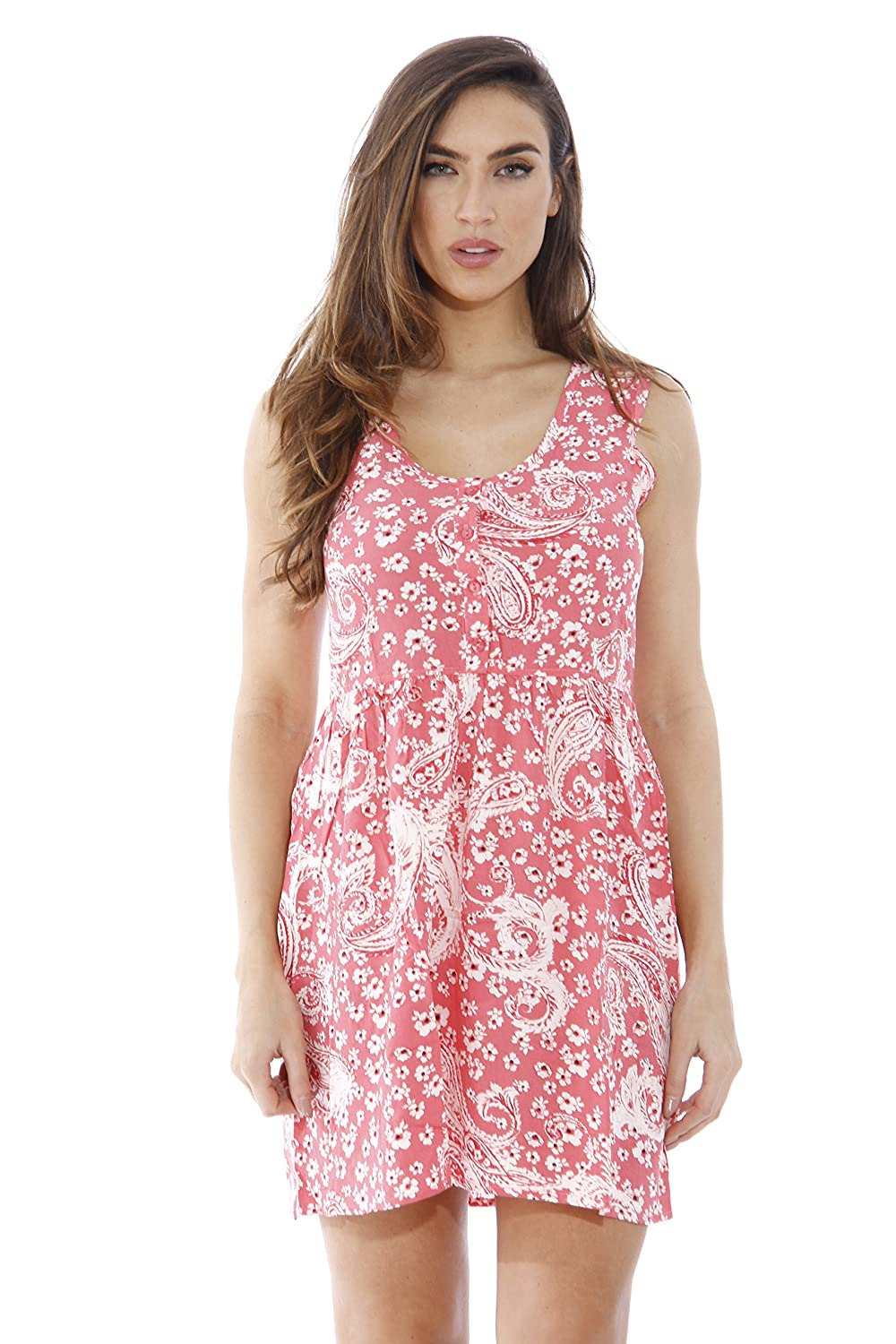 a22f7aca6 Just Love AMZ5946-COR-L Short Dress/Summer Dresses for Juniors at Amazon  Women's Clothing store: