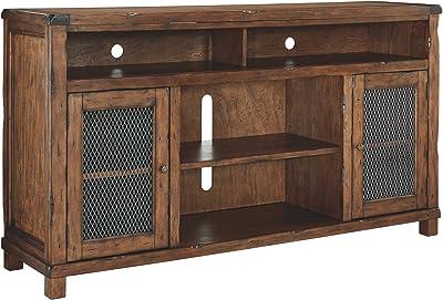 Amazon Com Sauder 411864 Palladia Panel Tv Stand 50