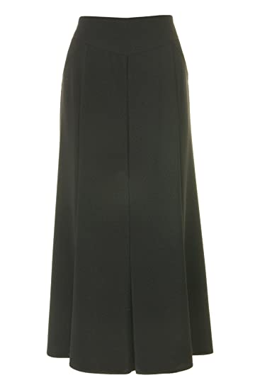 42d903fdce Busy Clothing Womens Sparkle Black Long Flared Skirt: Amazon.co.uk: Clothing