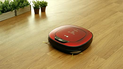 LG HomBot Square Aspirador Robot Vr64702lvmb Hepa 12,Rojo, 23 W, 60 Decibelios: Amazon.es: Hogar