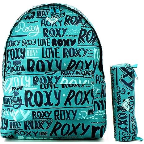 Mochila Escolar Roxy Estuche Offerte: Amazon.es: Equipaje