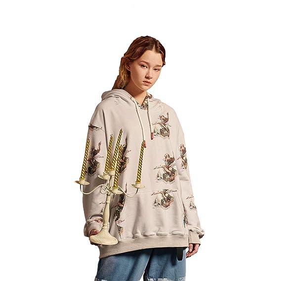 60% de réduction choisir véritable meilleurs tissus DEBAIJIA Femme Sweat-Shirts à Capuche Fille Hoodies Pullover Pulls Tops  Blouse Imprimé Manches Longues Casual Style Lâche Hip Hop Tendance Rétro  Mode ...