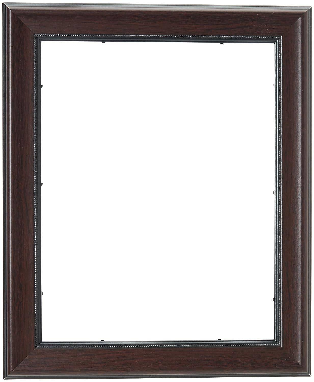 Amazon.de: ArtToFrames 27, 9 x 35, 6 cm Mahagoni und Burgunderrot ...