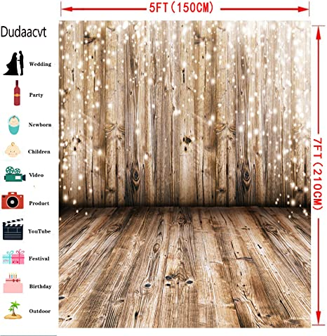 Liveinu Vinyl Background Cloth Photography Backdrops for Pictures Party Decorations Photo Studio 5x7ft