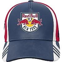 MLS Nueva York Rojo Bulls Boys-Gorra ajustable sombrero, Nueva Marina, talla única (8)