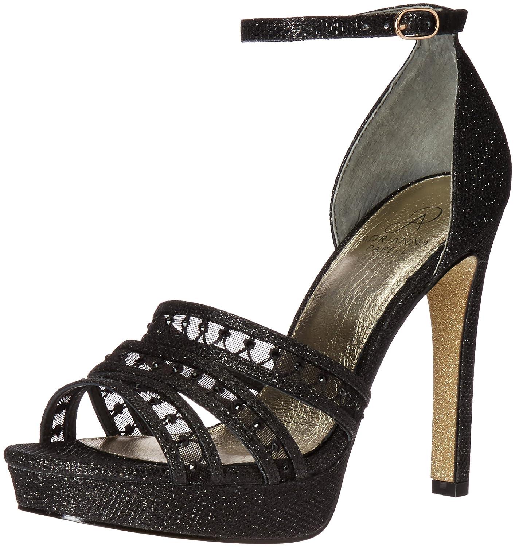 Adrianna Papell Women's Morgan Platform Dress Sandal B01LWWRHKL 6.5 B(M) US|Black