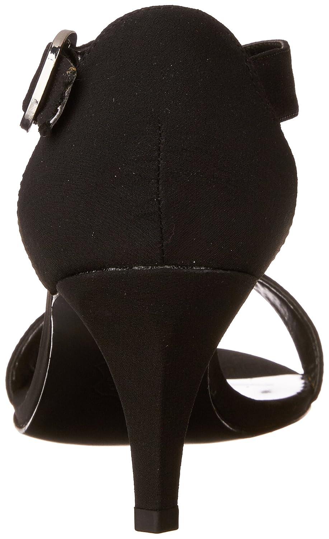 Easy Street Women's Glitz Sandal B00CD9GYQU 6 N US|Black Peau