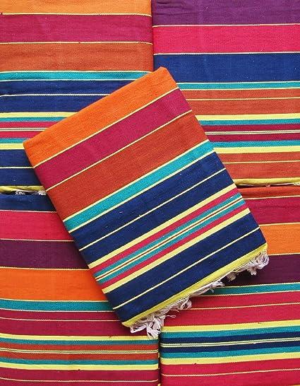 Gangji Cotton Carpet / Solapur Carpet/Satranji / Bhavani Carpet In Multicolours Vjpatta Multipurpose Carpet