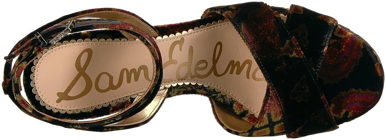 Sam Edelman Frauen Sandalen Mit Absatz schwarz/Multi Patchwork Foulard Patchwork schwarz/Multi 7e4ba3