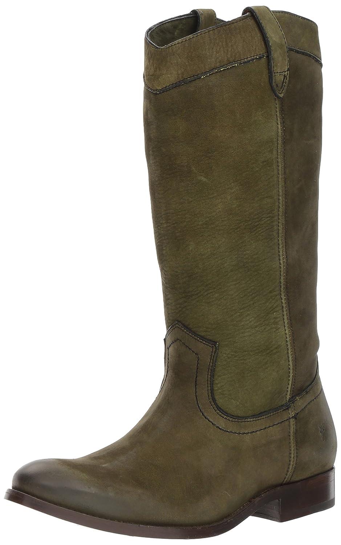 FRYE Women's Melissa Pull on Fashion Boot B06X153YV5 8 B(M) US|Fatigue