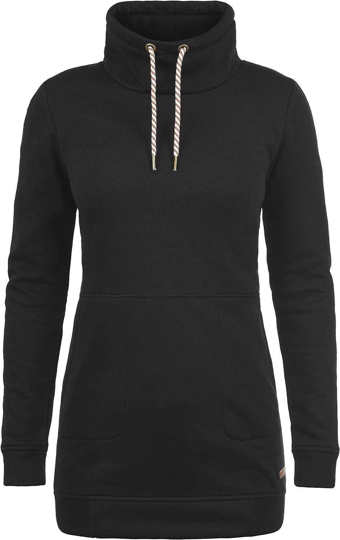 TALLA XS. Desires Vilma Sudadera Suéter Jersey Larga para Mujer con Cuello Alto