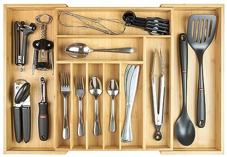 Amazon.com: KitchenEdge - Organizador de cubiertos y ...