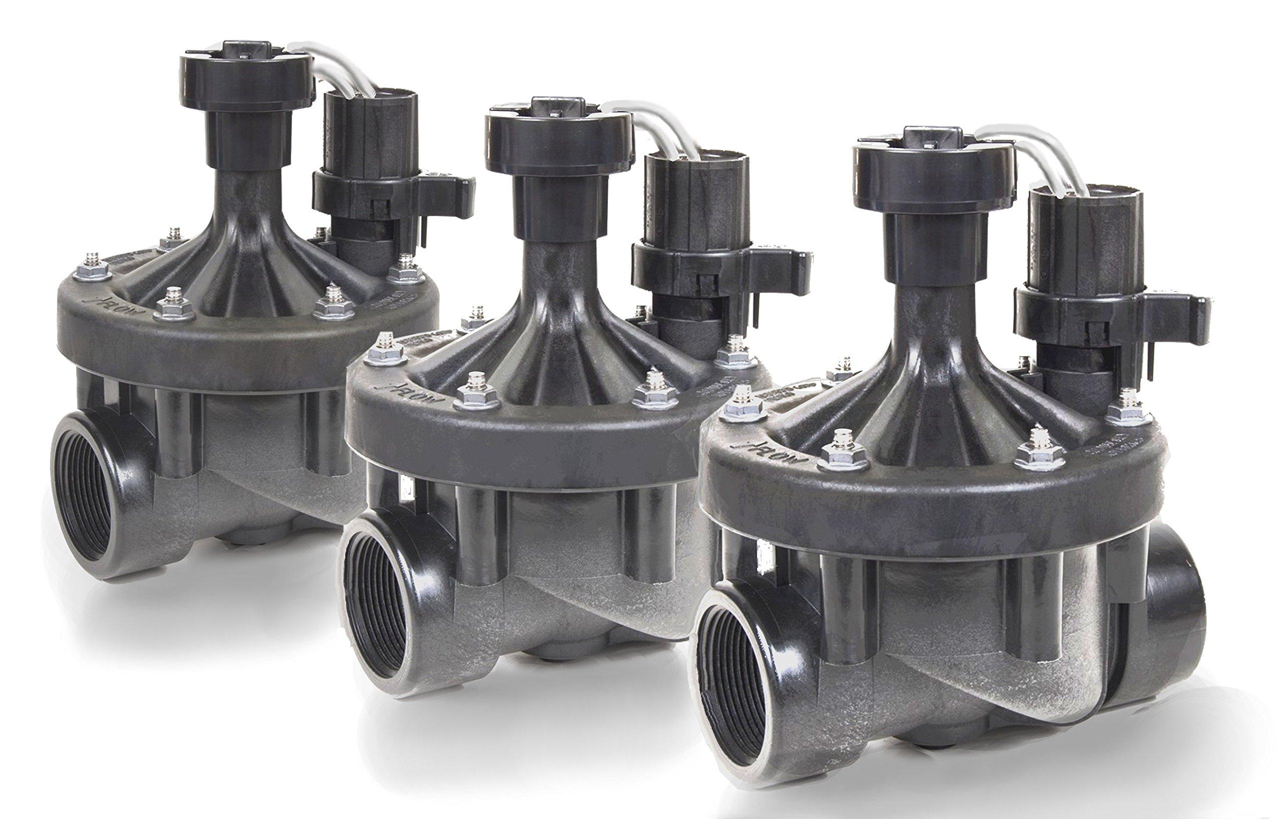 3 Rainbird 150-PEB 1-1/2'' Threaded Sprinkler & Irrigation Valves 1.5'' (5) by Rain Bird