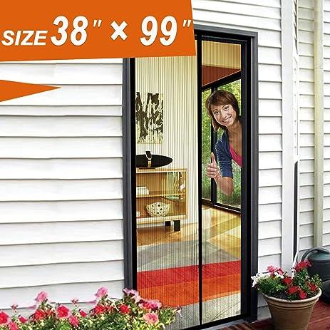 Magnetic Screen Door Mosquito Door Mesh 38 X 99 Fit Doors Size Up to 36  sc 1 st  Amazon.com & Magnetic Screen Door Mosquito Door Mesh 38 X 99 Fit Doors Size Up ...