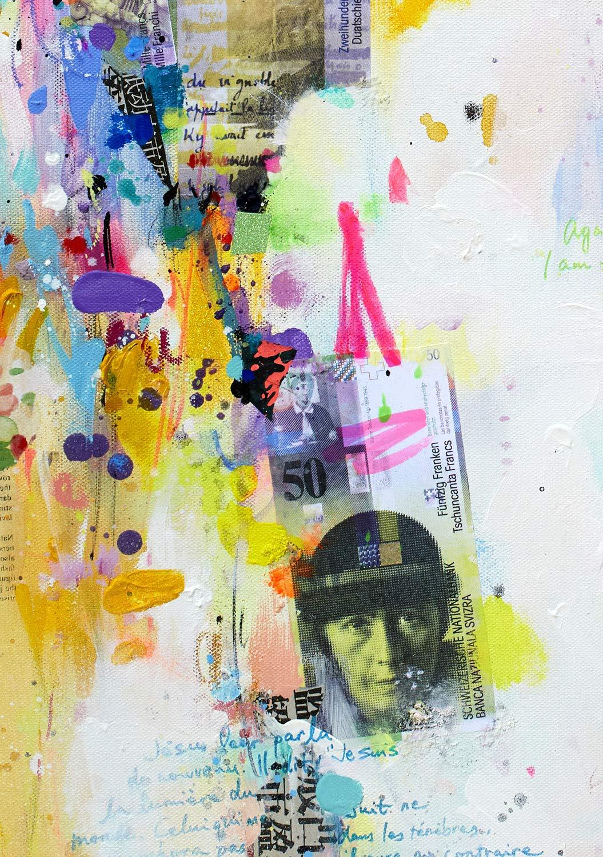 Reproducción de arte - Money world - sobre papel de acuarela 300g ...