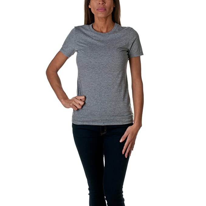 ec300feff86a5 Next Level Apparel Women's 6710 Tri-Blend Crew, Premium Heather, XX ...
