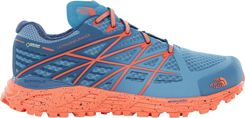 The North Face W Ultra Endurnce GTX, Zapatillas de Senderismo para Mujer, Azul (Provncialblu/Nasturtmorng), 41.5 EU: Amazon.es: Zapatos y complementos