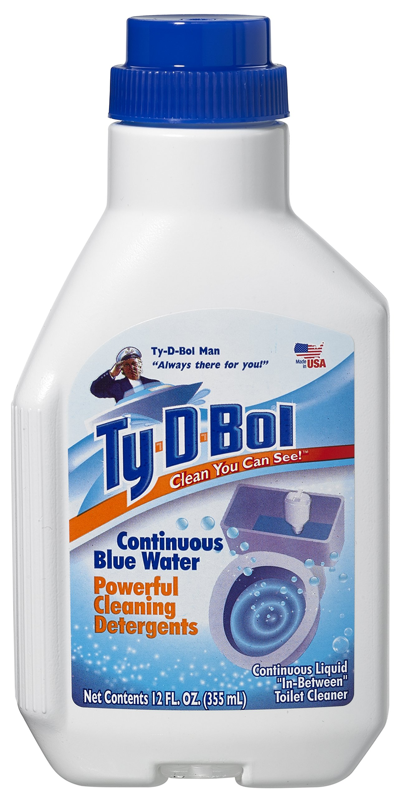 Ty-D-Bol Automatic Toilet Bowl Cleaner