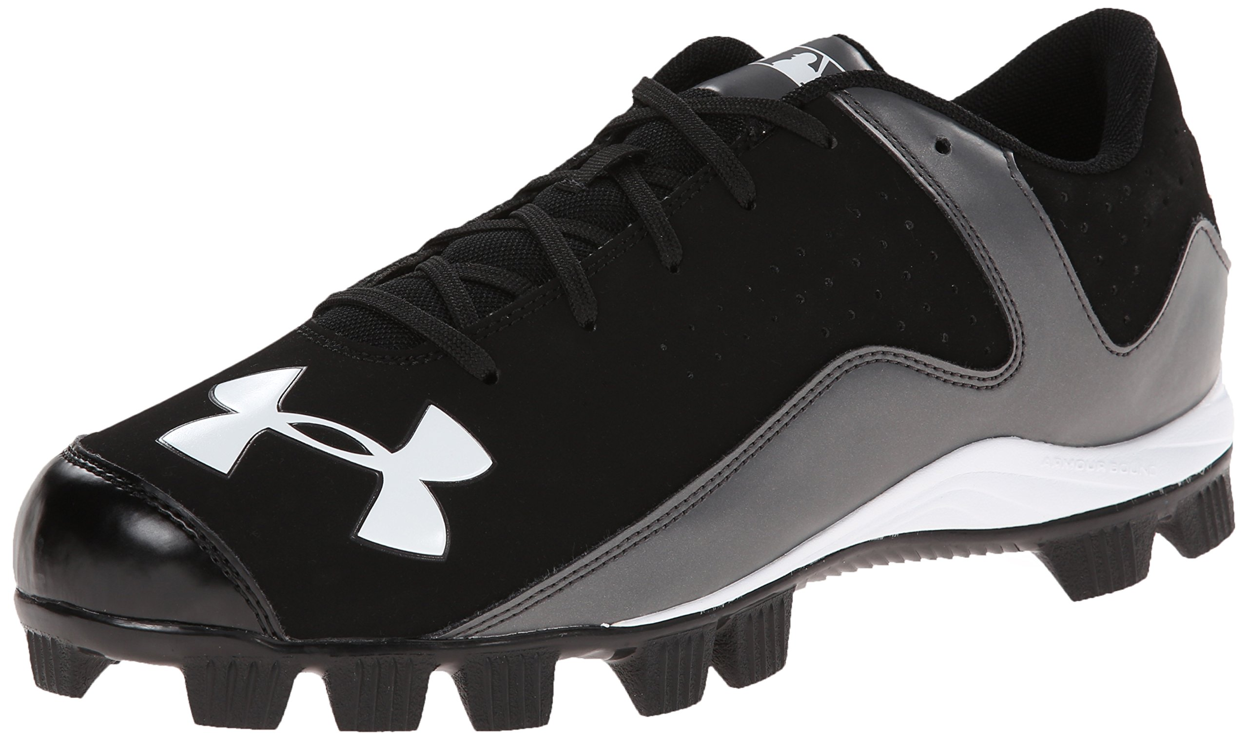 Under Armour Men's Leadoff Low RM Baseball Cleats Black/Charcoal Size 14 M US by Under Armour