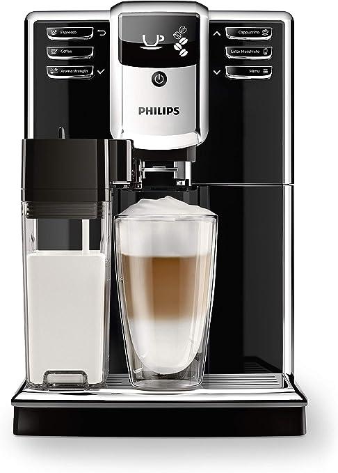 Philips EP5360/10 Serie 5000 - Cafetera Súper Automática, 6 Bebidas de Café, Jarra de Leche Integrada, Limpieza Automática, Molinillo Ceramico: Amazon.es: Hogar