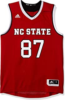 bad3aa6f adidas NCAA North Carolina State Wolfpack Mens Replica Basketball  Jerseyreplica Basketball Jersey, Power Red,