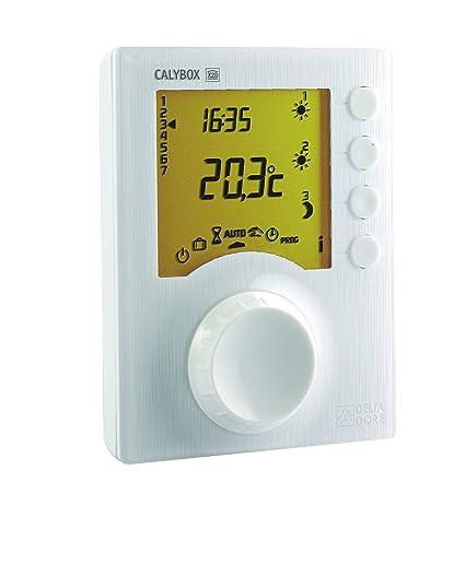 Delta Dore 6050392 Calybox 230 gestor de energía de 1 a 3 zonas para calefacción eléctrica