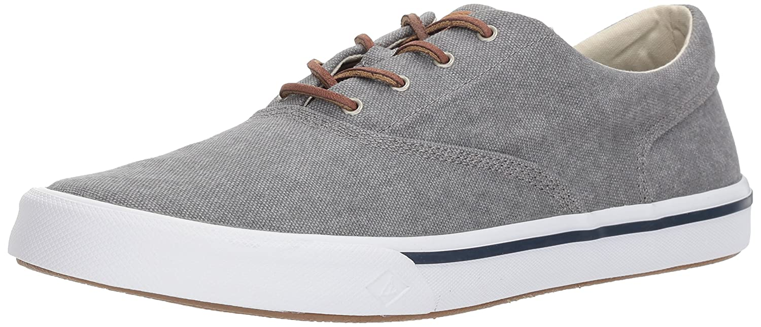 Striper II CVO Washed, Sneaker Uomo, Grigio (Grey 80), 40 EU Sperry Top-Sider