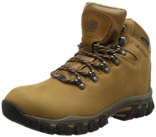 Mendip Nubuck Ii Weathertite - High Rise Hiking hombre, color marrón, talla 42 Karrimor