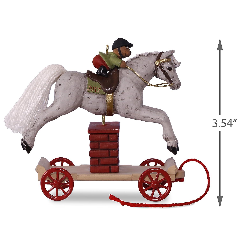Amazon.com: Hallmark Keepsake 2017 A Pony for Christmas Jumping ...