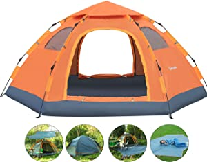 Wnnideo 4-5-Person Instant Family Tent