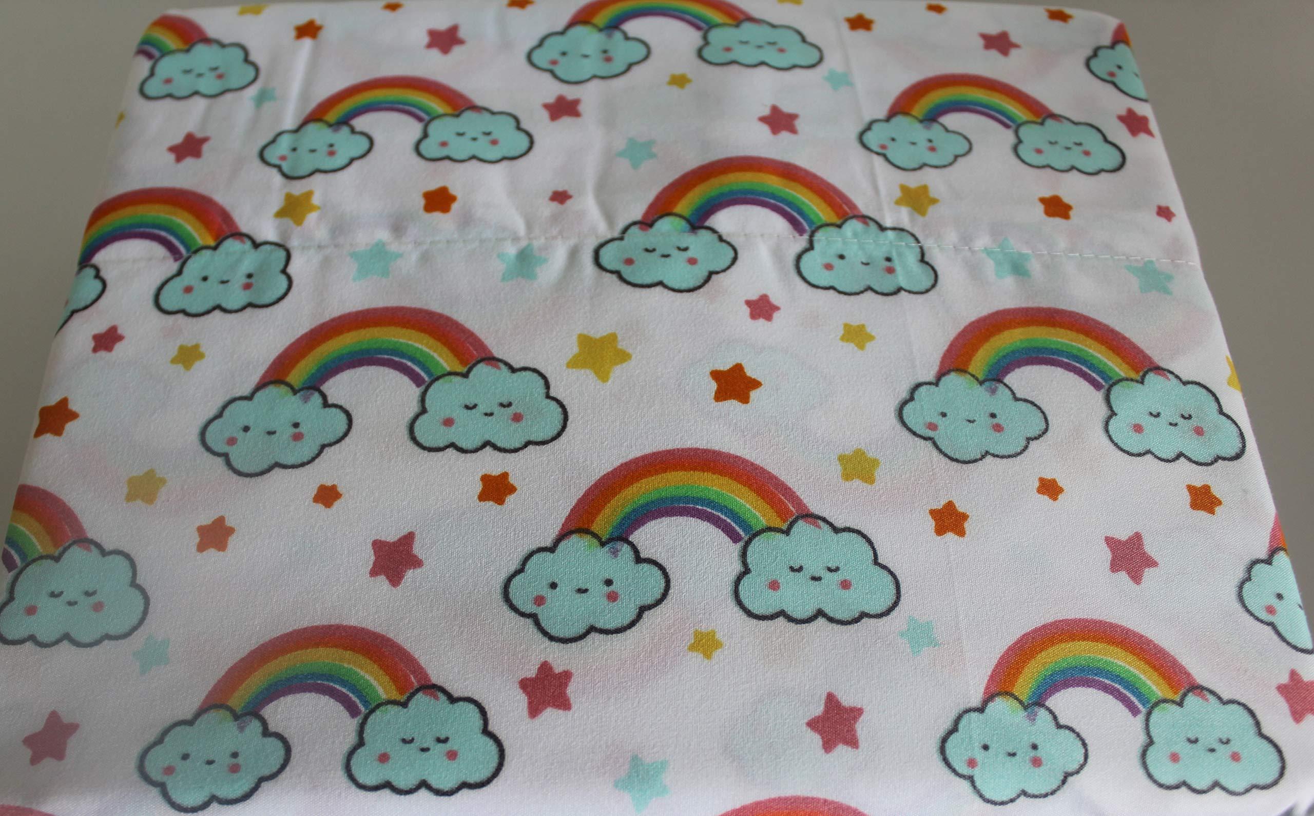 Kids Rule 3 Piece Twin Sheet Set, Rainbow
